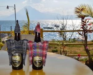 Beers After Kayaking Atitlan