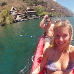 KAYAKING ATITLAN UPHILL BOTH WAYS