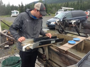 Adam Maire, adventure guiding in alaska, fins to spurs, mining gold