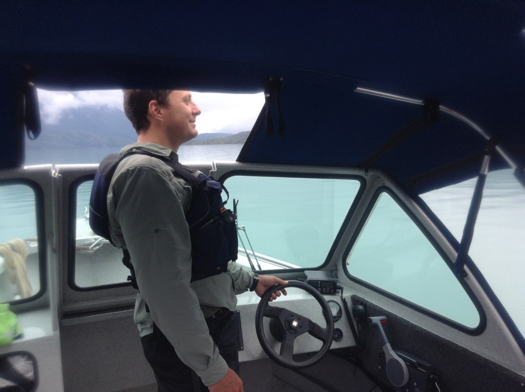 Adam Maire, adventure guiding in alaska, fins to spurs, driving boats