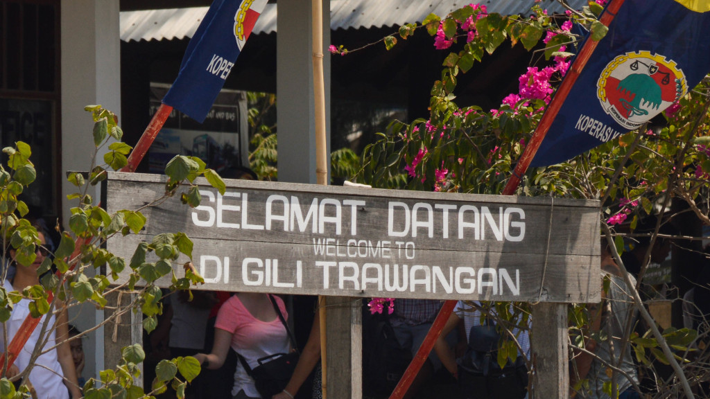 Fins to Spurs, back underwater, Gili Trawangan, Indonesia, Welcome