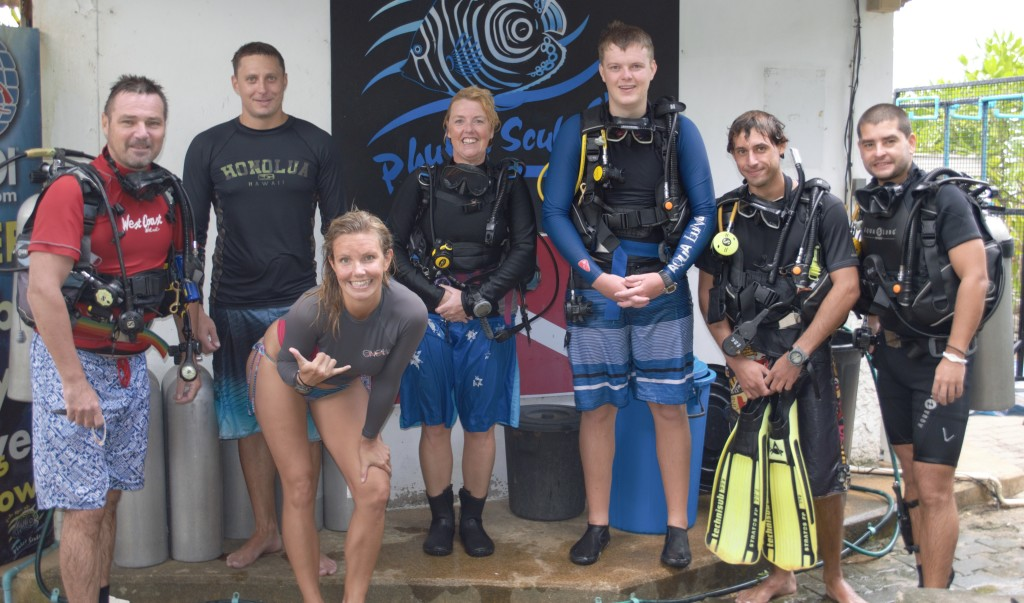 Christine West, Adam Maire, Phuket Scuba, Underwater Clean Up, Thailand, Finsto Spurs