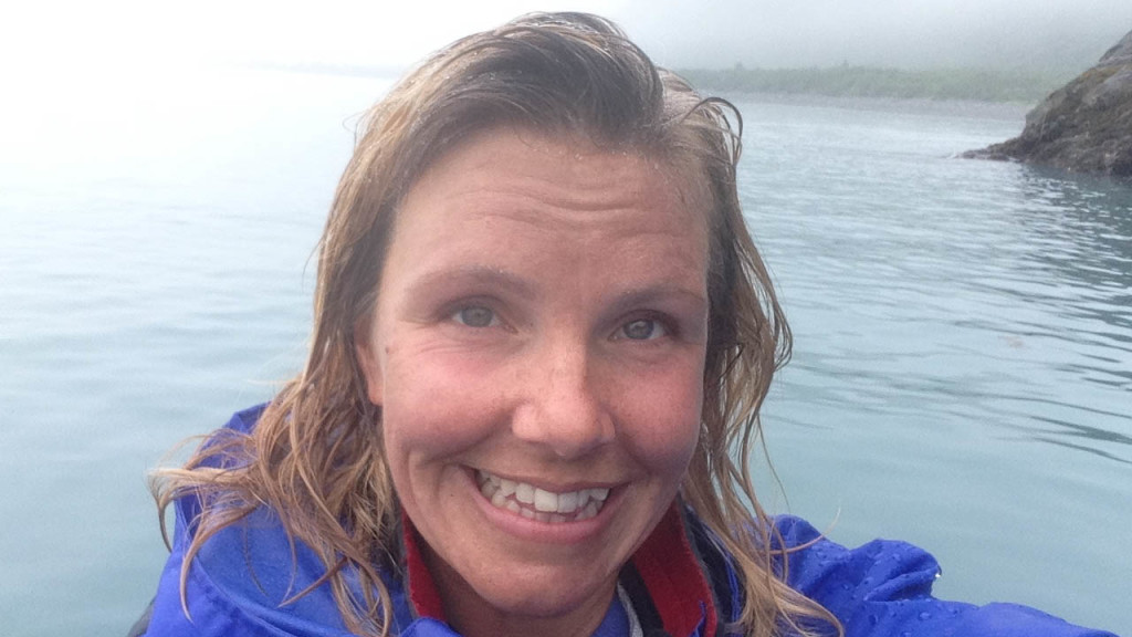 christine west, fins to spurs, adventure tours in alaska, alaska, kayaking