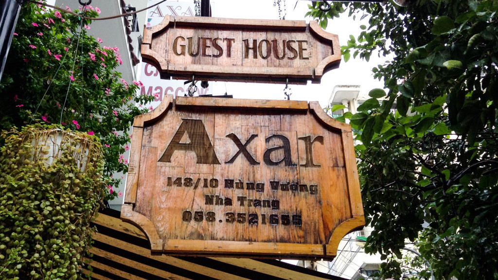 Fins to Spurs, Axar Incident, Nha Trang, Vietnam, Axar Guesthouse