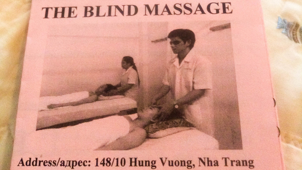 Fins to Spurs, Axar Incident, Nha Trang, Vietnam, Blind Massage