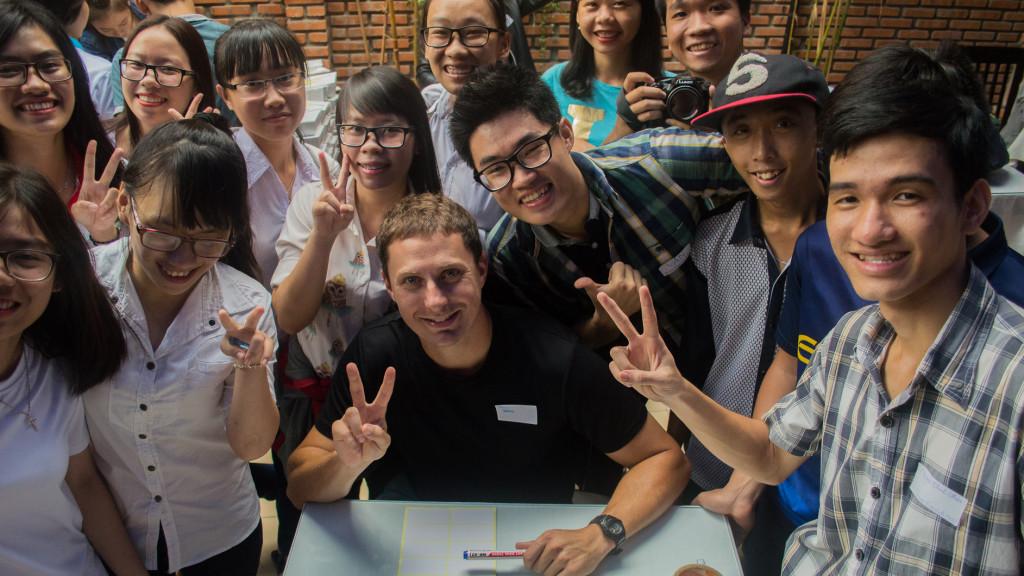 Fins to Spurs, Nha Trang, Vietnam, Adam Maire, #hashtaglunchbag, writing notes