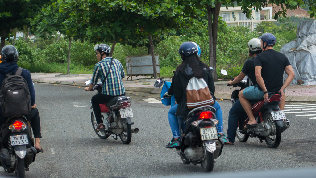 Volunteer in Vietnam, Fins to Spurs, Nha Trang, Vietnam, Adam Maire, motorbike ride