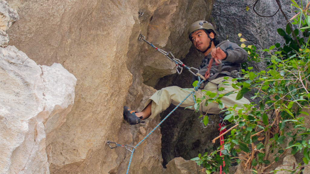 Jason, Rock Climbing, Ha Long Bay, Vietnam, Fins to Spurs, Adventure Work