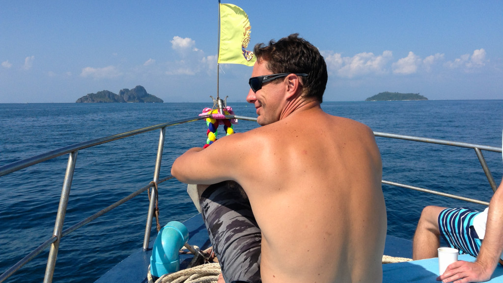 Adam Maire, Fins to Spurs, Phi Phi, Diving in Ao Nang