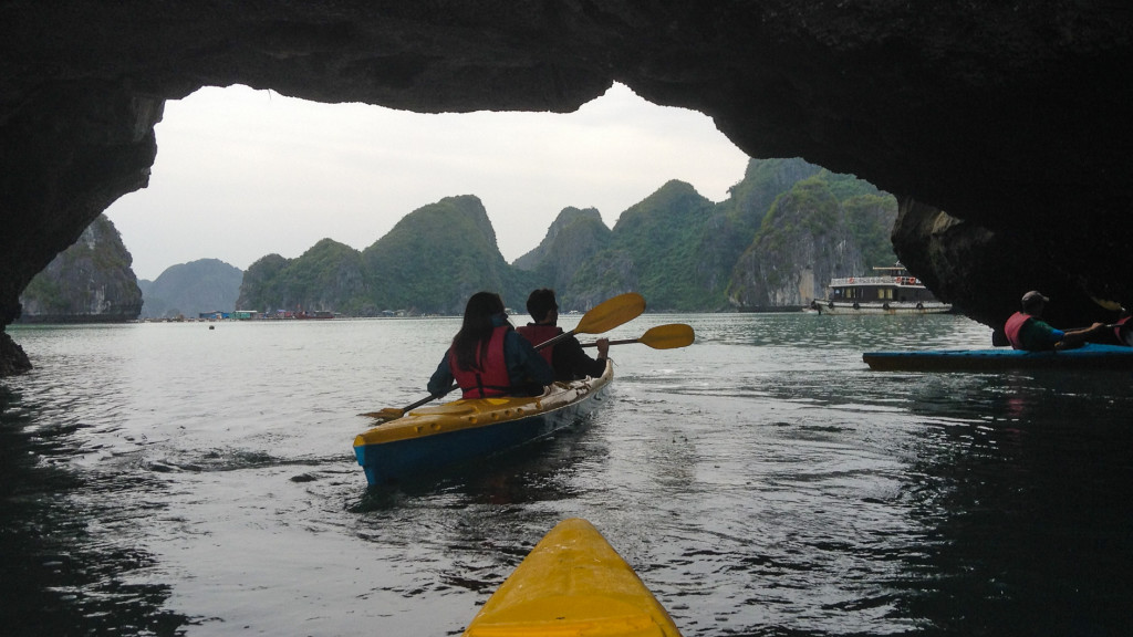 HaLong Bay, Fins to Spurs, Cat Ba, Vietnam, Kayaking Ha Long Bay