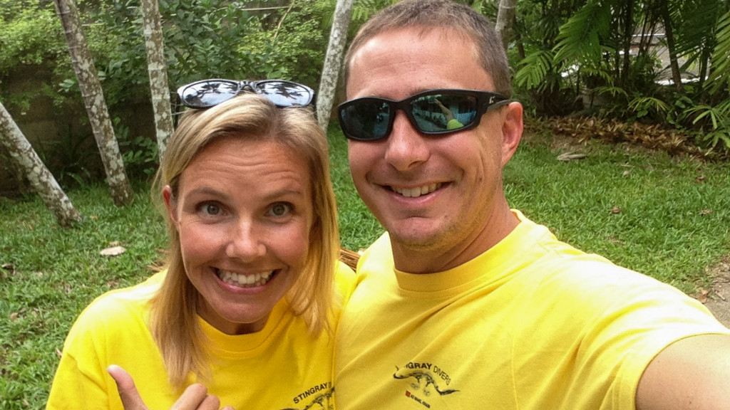 Christine R West, Adam Maire, Fins to Spurs, Diving in Ao Nang, Thailand