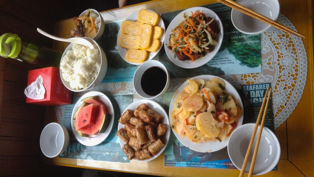 HaLong Bay, Lunch, Fins to Spurs, Cat Ba, Vietnam,