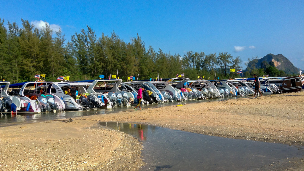 Motor Boats, Fins to Spurs, Diving in Ao Nang, Thailand