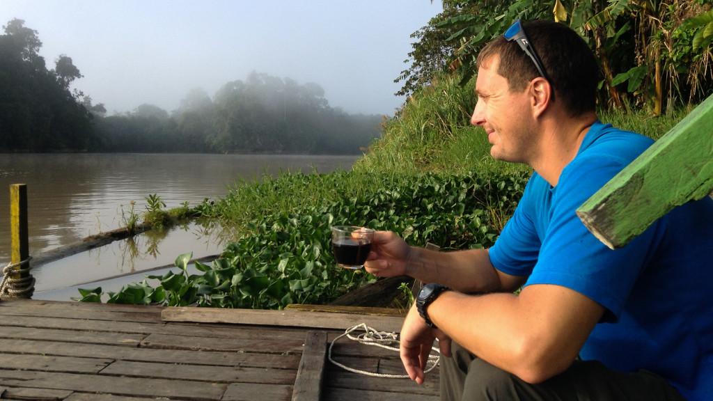 Adam Maire, Borneo, Malaysia, Fins to Spurs, Go to Borneo