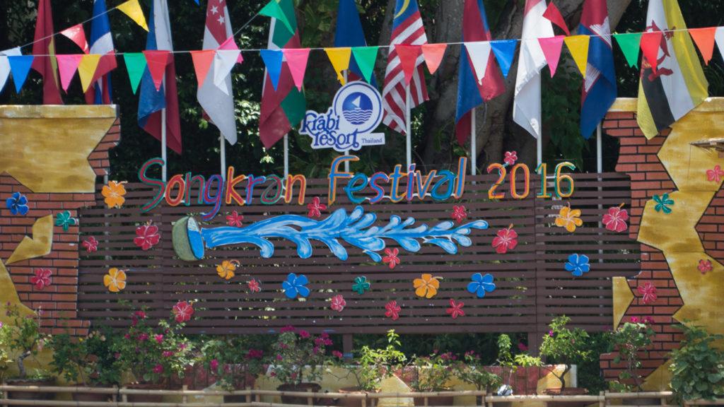 Fins to Spurs, Songkran, Thailand, Ao Nang, 2016