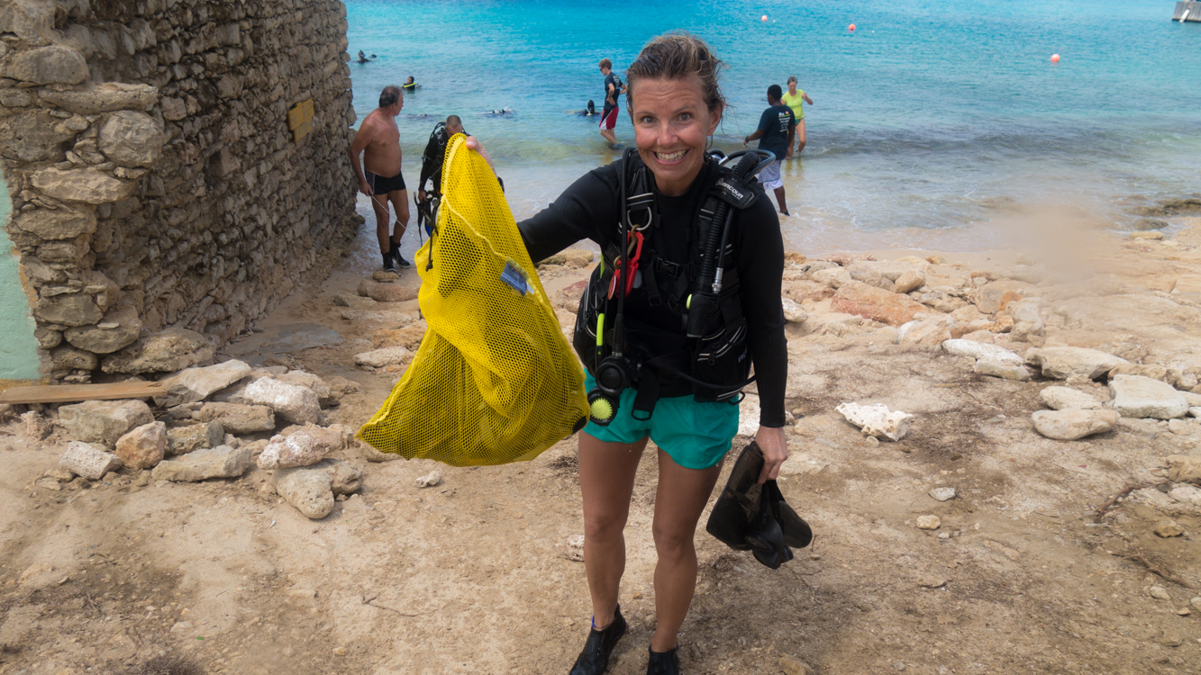 ocean cleanup Bonaire