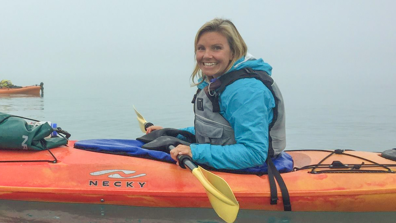christine-west-fins-to-spurs-alaska-kayak-alaska, travel jobs