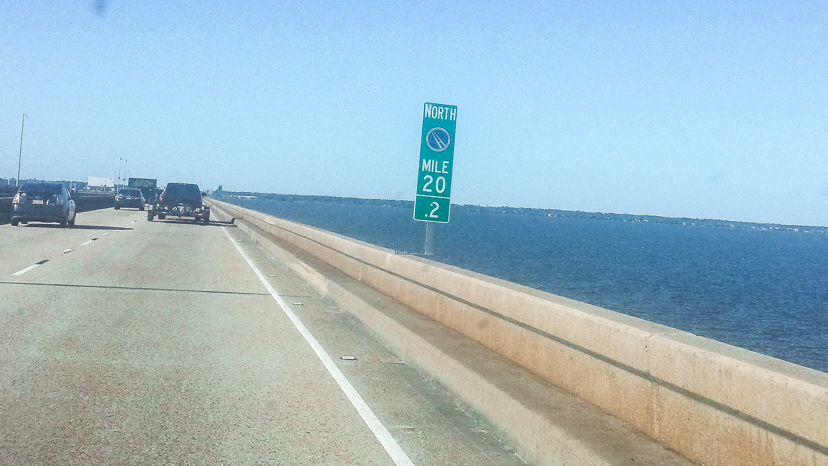 Fins to Spurs, Longest Bridge, #GetYourFinsOn, Dive and Drive Christine and Adam, road trip