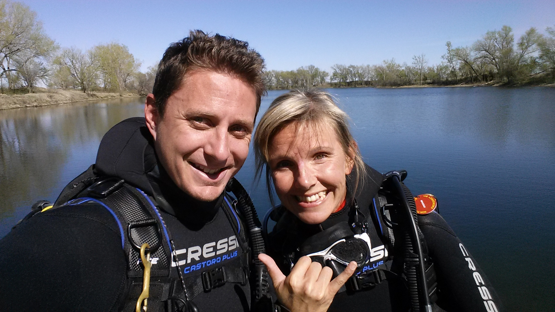 Scuba Dive Nebraska, Sandy Channels, Christine West, Adam Maire, Cressi, Dive and Drive, #GetYourFinsOn