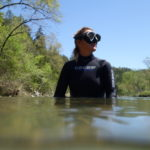Camp Arkansas, Christine West, Dive and Drive, #GetYourFinsOn, Cressi