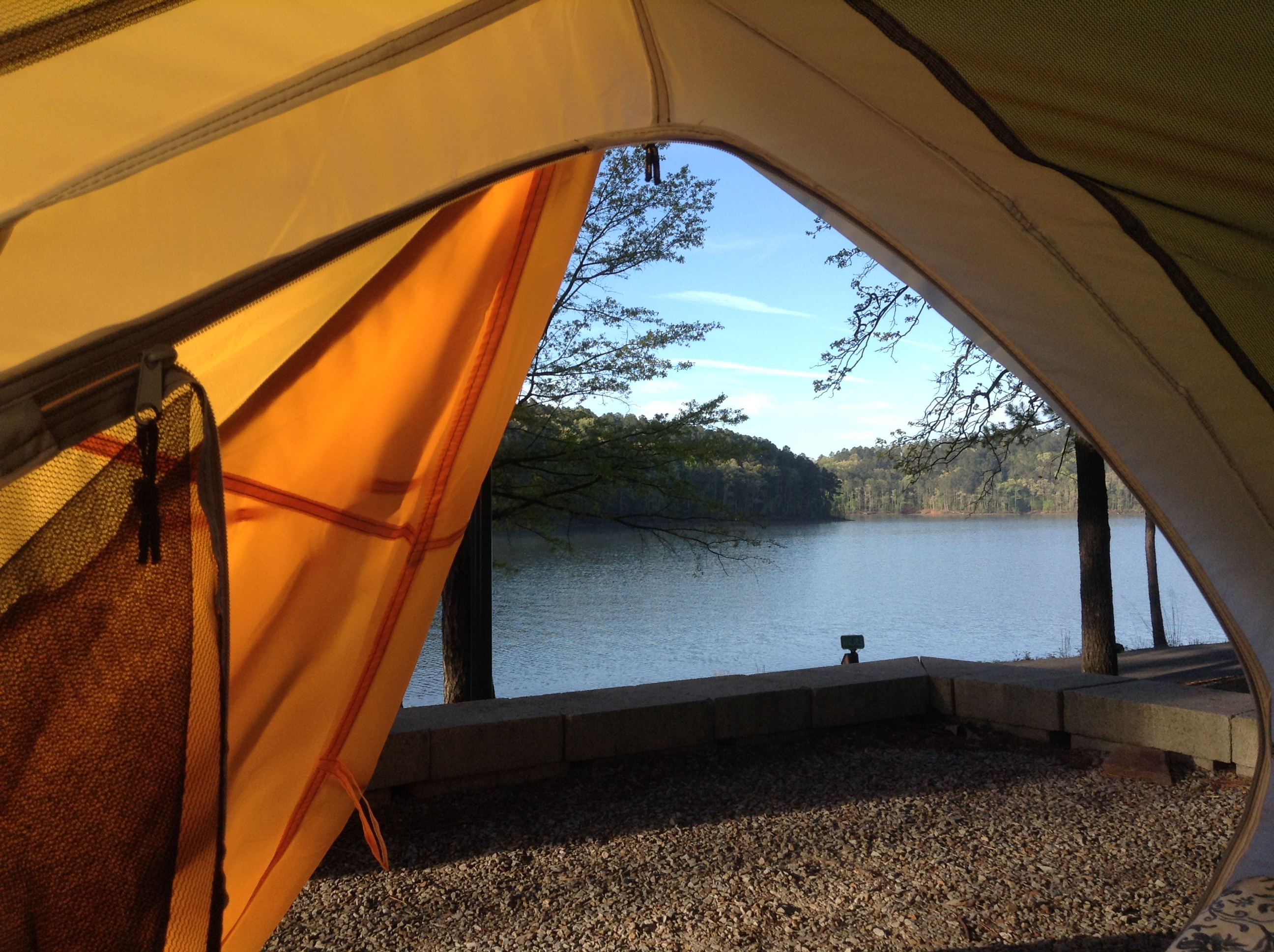 Camp Arkansas, Daisy State Park, View, Dive and Drive, #GetYourFinsOn
