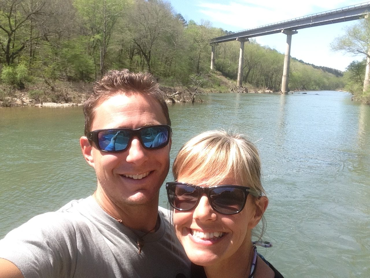 Camp Arkansas, Christine West, Adam Maire, Dive and Drive, River, #GetYourFinsOn, Cressi