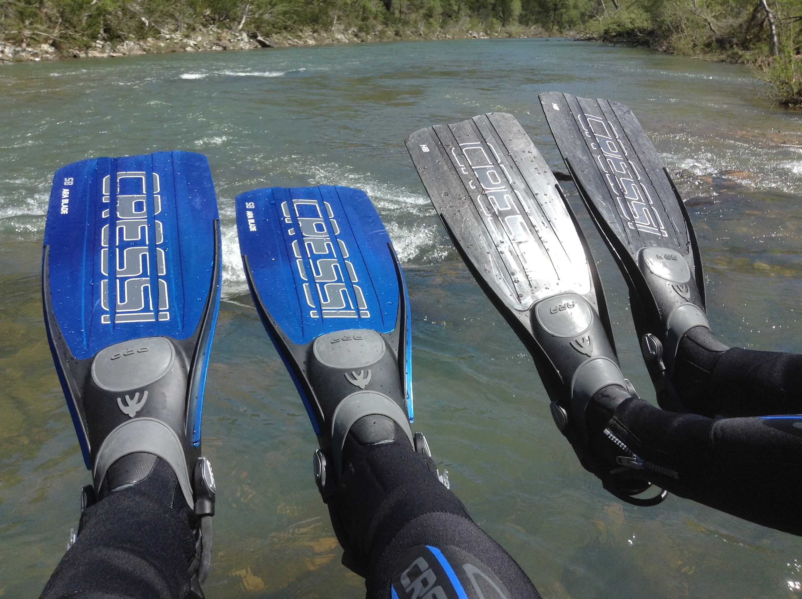 Camp Arkansas, Christine West, Adam Maire, Dive and Drive, River, #GetYourFinsOn, Cressi Fins